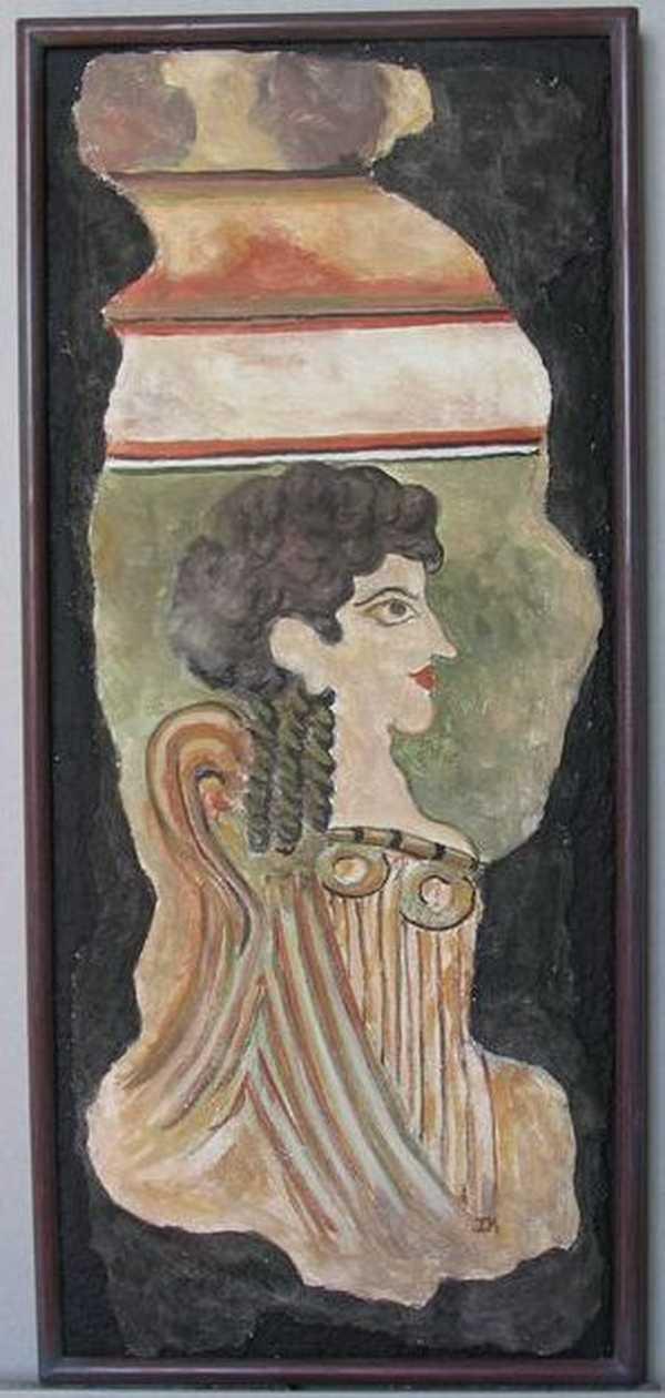 Fresque de Cnossos (fresque) – 280 €