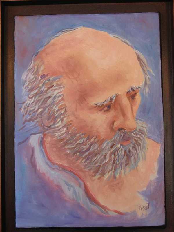 Vieil homme (fresque)