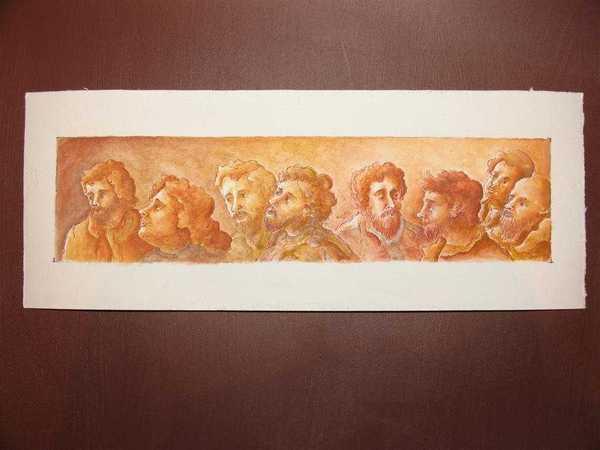 Apôtres (aquarelle)